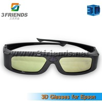 2013 New arrivel 2pcs/lot active shutter 3D glasses for Epson projector Free shipping