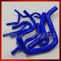 Customized / Original Logo Radiator Silicone Hose For Honda Civic EK3 B16 B16A B16B Blue