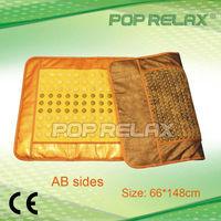 Tourmaline and jade heating mattress AB sides mat from POP RELAX