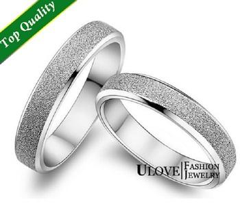 Оптовая продажа дизайнер стерлингового серебра кольца, обручальные кольца пара, пара кольца обручальное кольцо мужчины ювелирные изделия женщин аксессуары Ulove J047