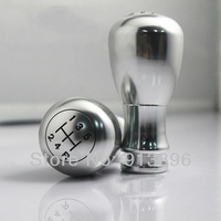 Free/Low Shipping Aluminum metal momo Manual Gear Shift Knobs stick shift knob Chrome color silver wholesale/Drop Shipping
