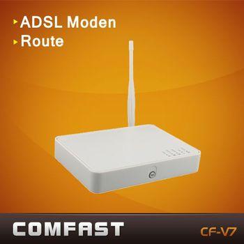 4ports adsl wireless router thomson v7 ADSL2+ modem router comfast TG585V7 dsl wireless rotuer modem rotuer adsl wifi b g