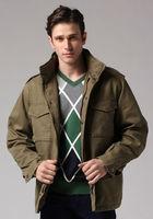 OK army green black gray light gray Freeshipping autumn winter man men male gentleman cotton jacket coat cardigan clothes WM930