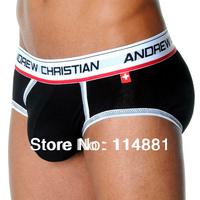 Free Shipping!Wholesale AC Sexy Show-it tech 4cm-width waistband Modal Men's Trunks/Men's Briefs/Men's Underwear AC32 10pcs/lot