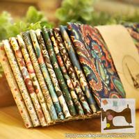 "Drop Shipping! fcz013 12piece/set Vintage Cotton Poplin DIY Fabric Quilting Fabric 'The Wizard of Oz' - 45x50cm/ 17.7""x19.7"""