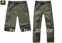 BOTACK BRAND Men's outdoor sports detachable pants quick dry pants have elasticity four color choice LMT2-6055