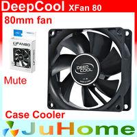 80mm, 8cm fan, 8025 Single fan, super Slient, for power supply, for computer Case cooler, DeepCool XFAN80