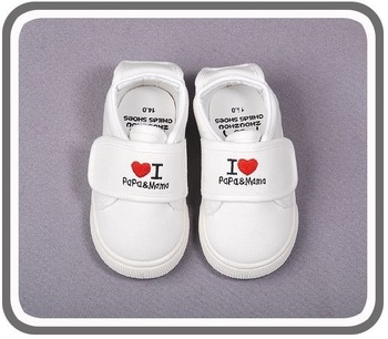 2013 new baby girls boys sport shoes love papa mama kids sneakers first walker fit 1-3yrs free shipping 9104