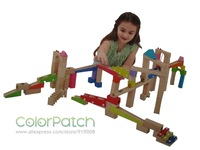 Wooden Marble Run,Colorful,With 20 marbles,Educational,Skillful,Popular,Environmental paint,Meet ASTM, EN71 and other test