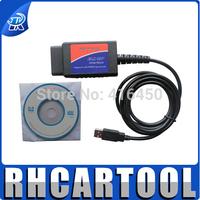 12V Voltage and Code Reader OBD II Type HIGH QUALITY ELM327 usb elm327 obd2 elm 327