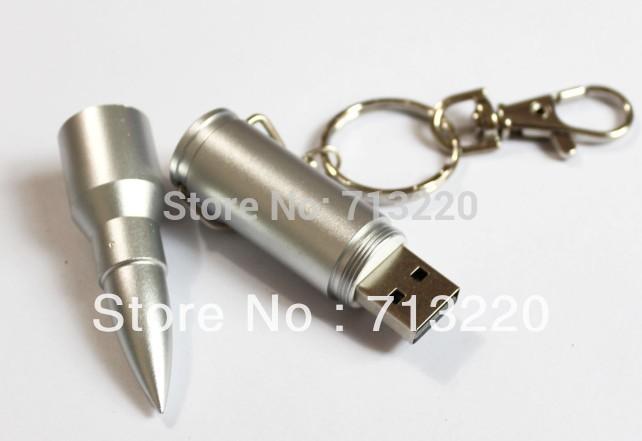 Genuine Capacity! NO Upgrade!2015 New Bullet Style Metal USB Drive 1GB 2GB 4GB 8GB 16GB 32GB Thumb Stick Memory Flash Pendrives(China (Mainland))