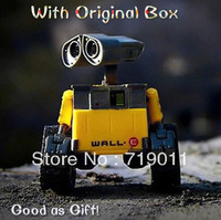Free shipping  High quality 6cm toy for the boys Wall-E Toys Robot  WALL E with original package