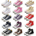 Free Shipping high style low style classic Canvas Shoes Lace up Classic Sneakers fashion star shoes chuck sports shoes BRANDED(China (Mainland))