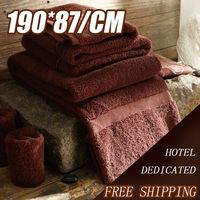 Bath Towels /Hot Sale 190*87CM/ 1100G/ Five Star 100% Cotton / Bathroom Towels /Big Bath Towel,High-Quality /Free Shipping /E007
