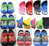 free shipping wholesale 2013 new fasion cute cartoon car style garden shoe for children sandals slippers boys and girls(China (Mainland))