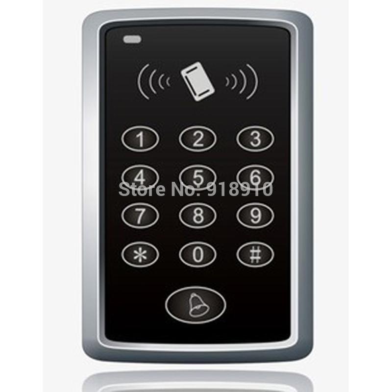 Free shipping+5 RFID tag NEW RFID Proximity Door Access Control System RFID/EM Keypad Access Control(China (Mainland))