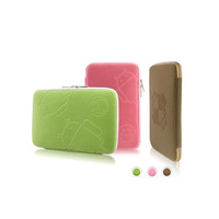 Freeshipping ,Universal Mofi Android Robot Soft Zip Bag Pounch Sleeve Case for 7 8 9.7 10 10.1 inch Tablet PC MID GPS Epad