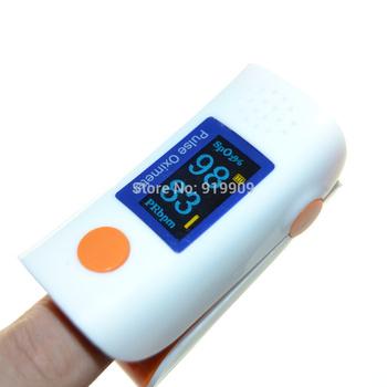 10PCs Health care SH-C1 Finger Pulse Oximeter Blood Oxygen SpO2 Saturation PR Oximetro OLED Monitor CE&FDA Approved Free ship