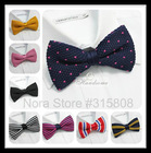 Men Neck Ties Tuxedo Knitted Bo