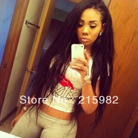 Beautiful!!! HOT Natural straight!! Mongolian virgin human hair Cheaper and Best Queen Full lace wigs