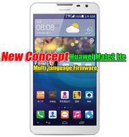 "Huawei Mate2-L05 LTE/WCDMA/GSM 6.1""IPS Kirin910 1.6G 2G ram16G rom Android 4.2 Dual Camera 13.0Mp Fast Shipping Multi-language"