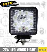 27W LED work light, high power 10-30V DC, high quality, led work light for SUV, ATV, 4WD, Tractor, heavy duty vehicle
