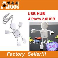 Top Quality!!!!!High Speed!!  USB 2.0   4 port USB HUB Doll shape HUB USB  Wholesale