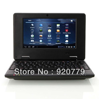 """VIA8850 7Inch"""" Google Android 4.0 TFT HD Mini Notebook Laptop Camera WiFi WLAN 3G HDMI Black Color Wholesale"""
