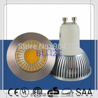 Hot Sale 10pcs GU10 3W 5W 6W COB LED Spot Light Dim led Bulbs Lamp 3000K 4000K 6000K High Brightness 85-265V 3-Year warranty
