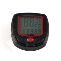bike parts  Waterproof bicycle computer  Multifunctional speedometer Bicycle Odometer free shipping