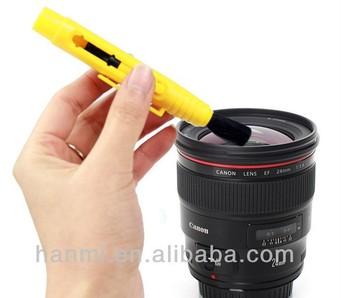 10Pcs 2013 New 2in1 Lens Pen Cleaning Kit Brush Carbon for Digital Camera dslr Lens Filter LED DISC UV CPL