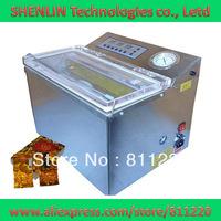 Tea bagging vacuum shrinking machinery DZ-300,aluminum packages sealing equipment tools,plastc bags sealer,CE,air pump 20m3/hour
