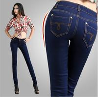 clearance sale Flexible sexy denim jeans 2014 New arrival Jeans Pencil Style Women's Denim Jeans Slim sexy jeans woman trousers