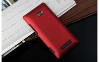 10pcs/lot New Style Matte Hard Back Case for HTC 8X C620e Matte Hard Case, Free Shipping, HCC-007