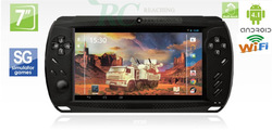 2013 New Video Game RC7100 7 INCH dual Camera capacitive touch screen A8 1.5G 512DDR3 Android 4.0.4 Tablet PC Wifi Game play(China (Mainland))