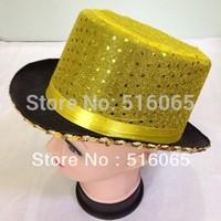 Magic Trick Costume Accessory Stage Prop Magician's Hat magic tricks magic props,Sequins Top  Hats Good For Party