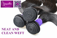 "peruvian virgin hair body wave 1b#  8""-30"" total 300g 3pcs/lot free shipping"
