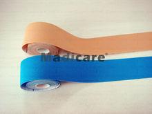 Four way Stretch Kinesio tape 5CM*5M Rayon Nylon  Kinesiology Muscle sports tape  bandage Free Shipping (China (Mainland))