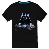 star wars darth vader male 100% cotton short-sleeve T-shirt  2014 Hot band Products $14.5 Free Shipping