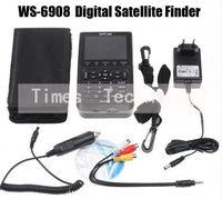 Satlink WS-6908 DVB-S FTA digital satellite finder meter WS6908,  free shipping