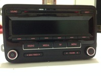 VW Volkswagen Car Radio RCD310 CD Player Unused New Passat Golf 5 6 Jetta with CODE Original Factory Product 1K0 035 186 AN
