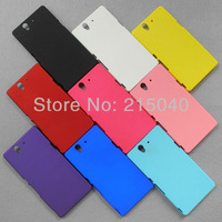 Free Shipping!! Hight Quality Rubber Matte Plastic Hard Back Case Cover for Sony Xperia Z Yuga C6603 L36h L36i C660x, SON-001