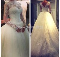 2014 Wedding dresses Tube top Luxurious Wedding dress 2014 Wedding gown Vestido
