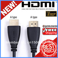 50PCS/LOT 6ft HDMI High speed AM-AM 32AWG OD4.2mm Cable W/Ethernet For 1080P HDTV PS3