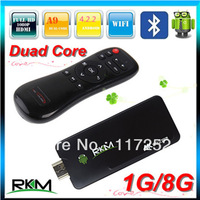 Rikomagic 5th MK802IIIS Bluetooth Mini PC RAM 1GB ROM 8GB Andriod TV Box Dual Core MK802-IIIS MK802 IIIS+Fly Mouse EA-01