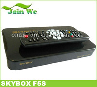 10pcs/lot Skybox F5S Mini Satellite TV Receiver 1080P Full HD Dual-Core CPU Support USB WIFI CCCam  +VFD Display Free shipping