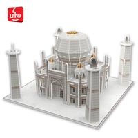 LITU 3D PUZZLE_world's famous architecture_Taj Mahal India