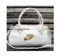Free shipping 2013 designer Black/White leather gym bag  sport bag travel handbags,gym totes carry on luggage brand items GB38