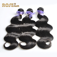 Queen Hair weave:Brazilian Virgin Hair extension,12-32inches,3pcs/lot,100% human hair weft,Natural body wave, DHL free shipping