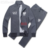 2014 fashion Men Sport Suit Jacket & Pant Sport Package Wholesale man sweat suit free shipping suit tracksuit